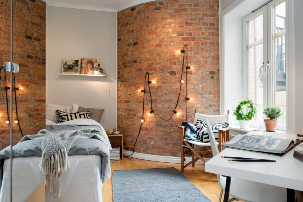 How To Decorate Your Brick Wall Without Drilling Blog