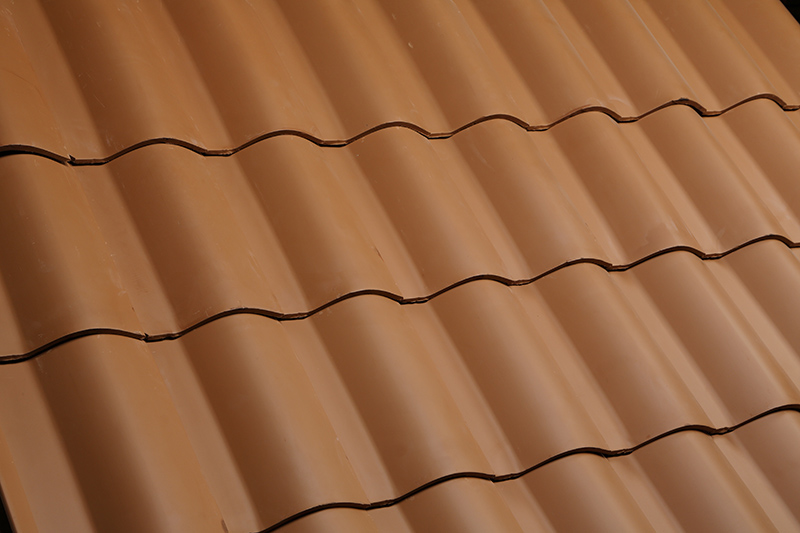 Clay roof texture here at Claymex.