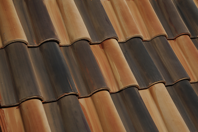 Find out about the types of clay roof tiles