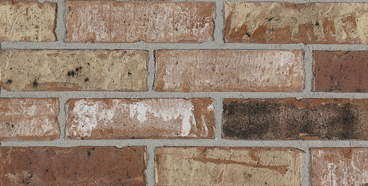 Get a red brick background for your home