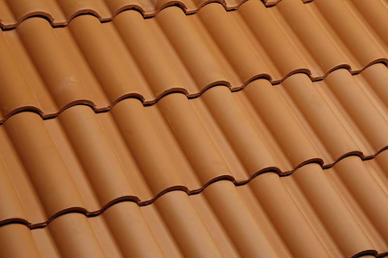 Clay tiles for your roof.