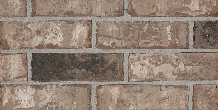Incredible textures of red bricks