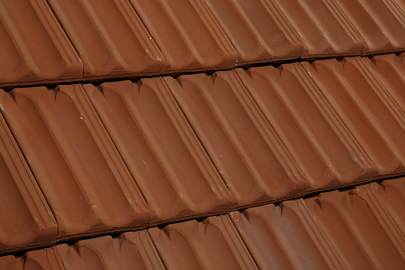 Clay roof tile simulated for your home.