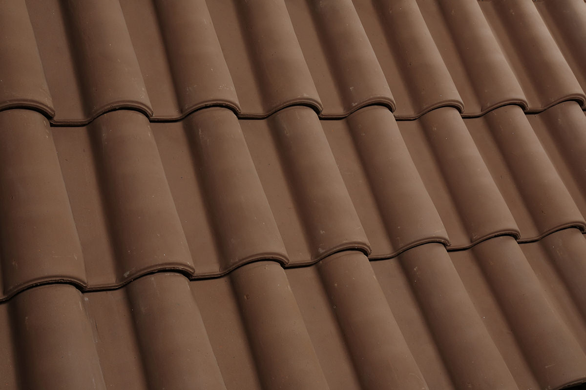 Images of clay roof tiles